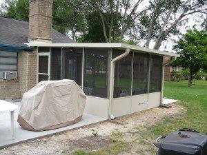 Screen Patio Enclosure in Porter, TX