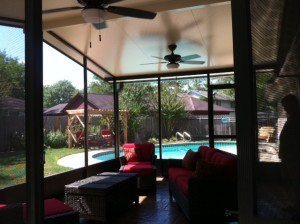 Screened In Patio Porch in Tomball