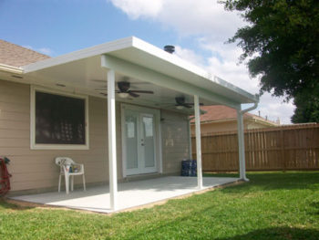 Affordable Patio Cover in Spring