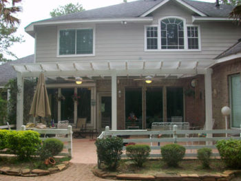 Aluminum Pergolas in The Woodlands