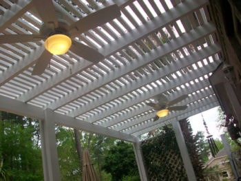 Pergolas & Outdoor Ceiling Fans in Katy, Texas