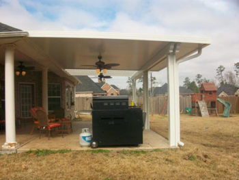 Backyard Patio Cover & Pergola in Tomball TX
