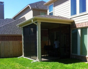 Screened in Porches with Patio Cover in Magnolia