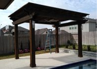cedar pergola league city