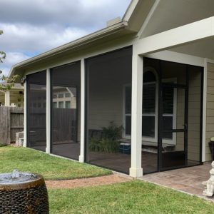 screened in patio enclosure conroe tx